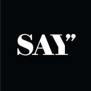Say logo square black