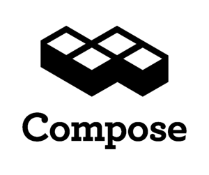 Compose logo stacked black htgbqp peyzzf