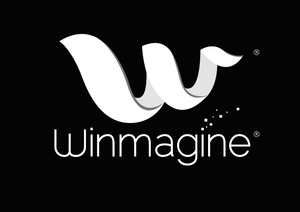 Winmagine logo r black